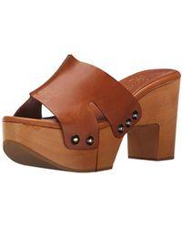Robert Clergerie - Cetri Platform Mule Sandal - Lyst