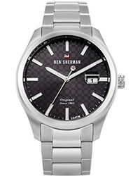 Ben Sherman - 'the Ronnie Professional' Quartz Stainless Steel Casual Watch, Color:silver-toned (model: Wbs109tsm) - Lyst