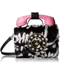 Betsey Johnson - Hello??? Phone Bag - Lyst