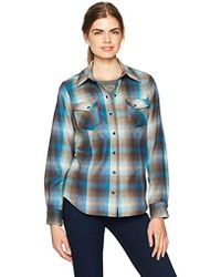 Pendleton - Ranch Hand Wool Plaid Shirt - Lyst