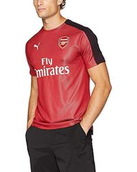 a1fc568f3c7 PUMA Arsenal F.c. Black Out Jersey in Black for Men - Lyst