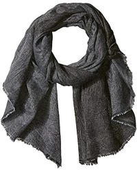 French Connection - Darcy Lightweight Chambray Scarf - Lyst