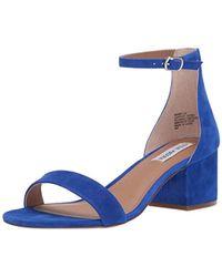 4bb08c0383f7 Lyst - Steve Madden Bowwtye Heel Sandal in Purple