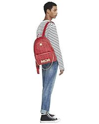 MCM Project (red) Trilogie Stark Backpack, Ruby, One Size