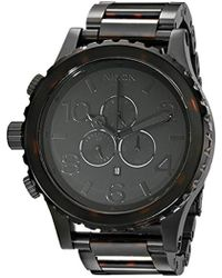 Nixon - 51-30 Chrono. 100m Water Resistant 's Watch (xl 51mm Watch Face/ 25mm Stainless Steel Band) - Lyst