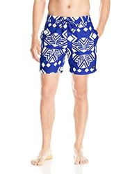 0beed21c7c Jack Spade - Exploded Mexican Flower Swim Trunk - Lyst