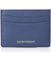 Emporio Armani - Designer Leather Cardholder - Lyst