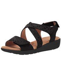 Easy Spirit Kenzie3 Sandal - Black