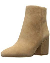 29d6c1851 Lyst - Sam Edelman Taye Leopard-print Calf Hair Ankle Boots in Brown