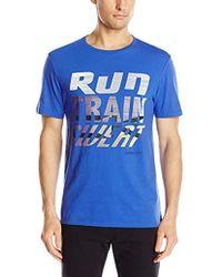6960d7e5 Aldo Nova Short-sleeve T-shirt. $15. Backcountry. Calvin Klein -  Performance Run Train Sweat Tee - Lyst