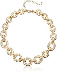 Napier - Gold-tone Collar Necklace - Lyst