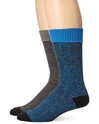 Ben Sherman - 2 Pack John Ribbed Boot Socks - Lyst