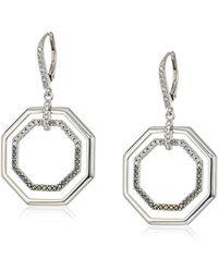 Judith Jack - Geometric Drop Earrings - Lyst