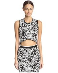 Timo Weiland - Carly Crop Top - Lyst