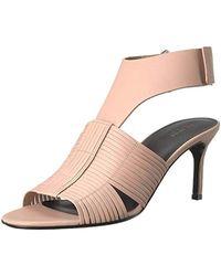 Via Spiga - Justine2 Woven Heel Heeled Sandal - Lyst