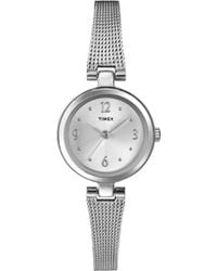 Stainless Tw2p62900 Lyst Silver Style Timex Steel Elevated sQrCdth