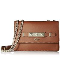 Guess - Cherie Convertible Crossbody Flap - Lyst