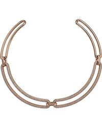 Michael Kors - S Iconic Pave Statement Collar Necklace - Lyst