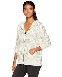 6e6361dc8c60 O neill Sportswear - Denver Oversized Hooded Fleece Zip Up - Lyst