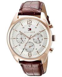 Tommy Hilfiger - 1791183 Sophisticated Sport Analog Display Quartz Brown Watch - Lyst