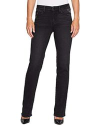 NYDJ - Marilyn Straight Leg Jeans - Lyst