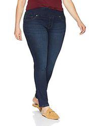 8f769b1a308 Lee Jeans - Plus Size Sculpting Slim Fit Skinny Leg Pull On Jean - Lyst