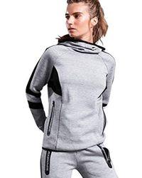 Superdry - Core Gym Tech Funnel Neck Pullover Sweatshirt - Lyst