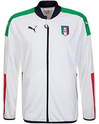 PUMA - Figc Italia Stadium Jacket - Lyst