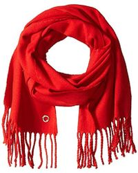 Calvin Klein - Solid Woven Scarf - Lyst