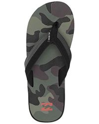 Billabong - All Day Impact Print Flip-flop - Lyst