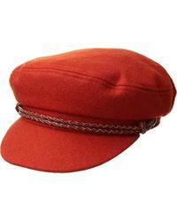 d64db5a21a4 Brixton - Ashland Greek Fisherman Hat - Lyst