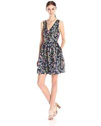 Erin Fetherston - Erin Floral Fit And Flare Devon Dress - Lyst