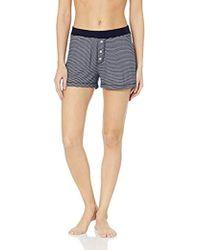 Three Dots - Ht6169 Feeder Stripe Pajama Short - Lyst