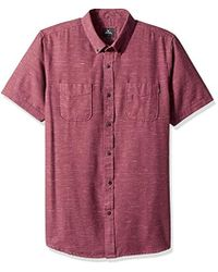 ee84d35c22ca Lyst - Tommy Hilfiger Men s Archer Check Shirt in Red for Men
