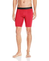 Hanes Sport Performance Compression Short - Red
