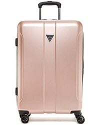 """Guess - Lustre 2 Collection 24"""" 8-wheeled Spinner In Rose Gold - Lyst"""