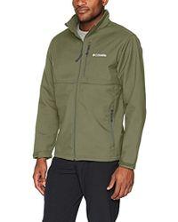 Ascender Softshell Jacket, Water & Wind Resistant Green