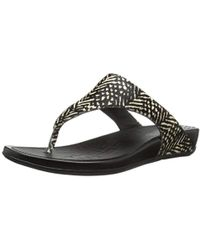 4b0d1485483d8 Lyst - Fitflop Banda Studded Sandals in Black