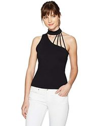 Guess - One Shoulder Mick Strappy Top - Lyst