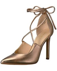 Nine West - Taha Synthetic Heeled Sandal - Lyst