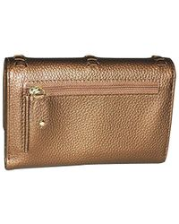 324995bb012f Lyst - MICHAEL Michael Kors Lauryn Whip-stitched Continental Travel ...