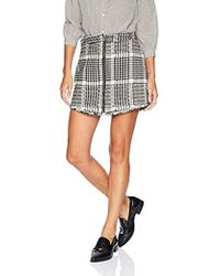 Cupcakes And Cashmere - Marni Herringbone A-line Skirt, - Lyst