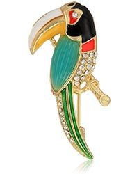 Napier - Multi-colored Tucan Brooches And Pin - Lyst