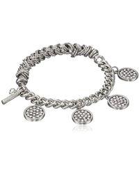 Kenneth Cole - Pave Shaky Circle Stretch Bracelet - Lyst