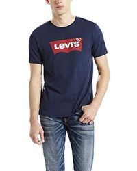 79b88816 Marcelo Burlon Wing Print T-Shirt in Black for Men - Lyst