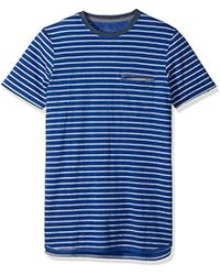 Levi's - Luke Speckled Snow Jersey Stripe Short Sleeve Shirt - Lyst