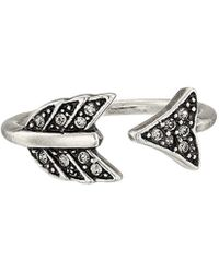 House of Harlow 1960 - S Arrow Affair Ring - Lyst