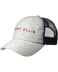 Perry Ellis - Meshback Baseball Cap - Lyst