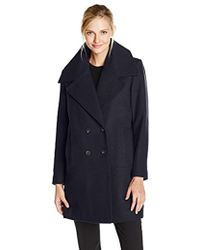 Marc New York - Natalie Double-breasted Coat - Lyst