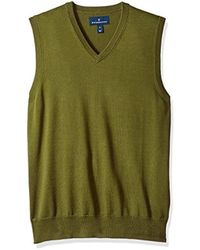 Buttoned Down - Supima Cotton Lightweight Sweater Vest - Lyst
